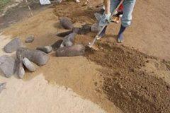 ⑤改良土層施工