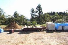 ④列石崩落防止用改良土の配合